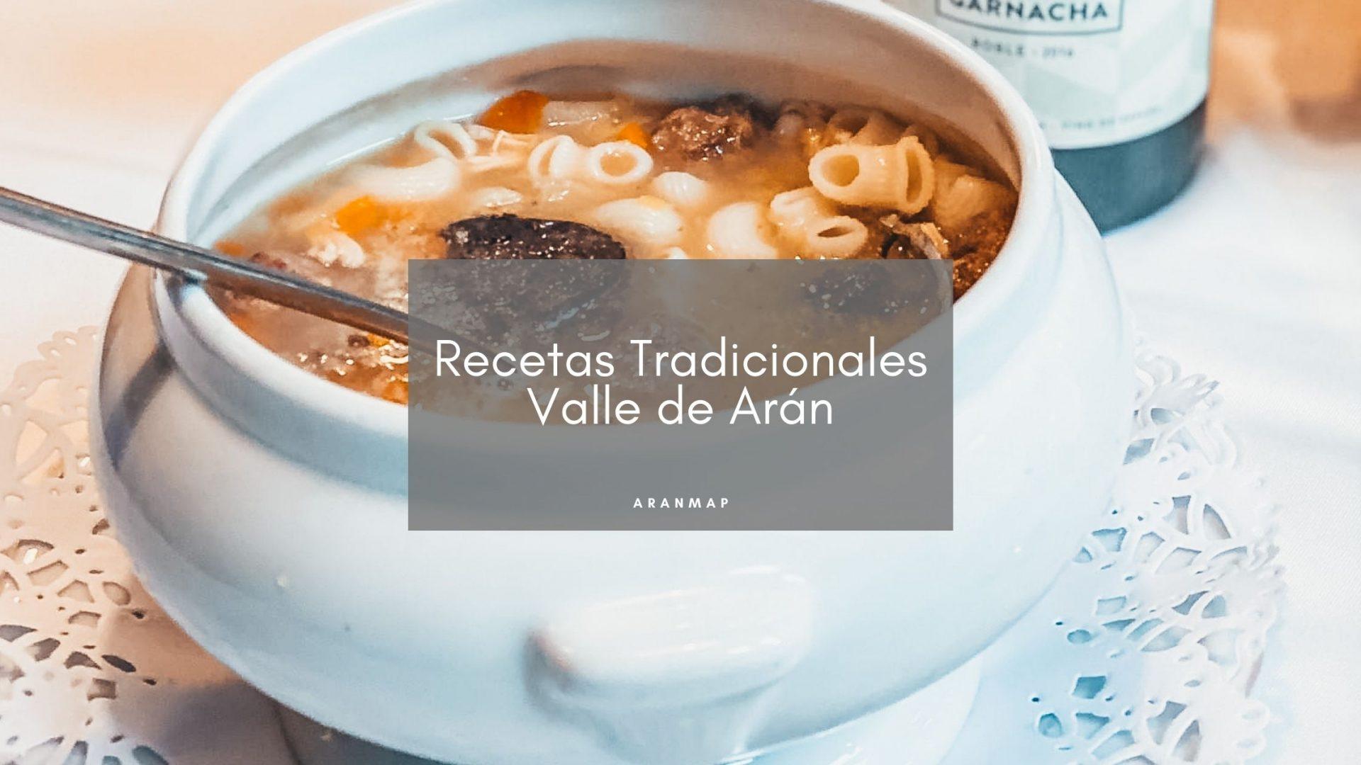 Recetas tradicionales del Valle de Arán para preparar en casa