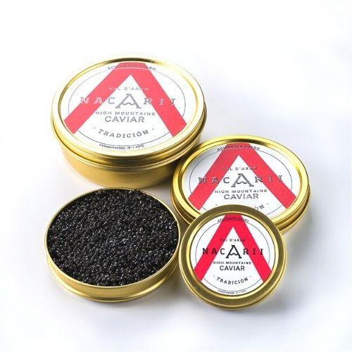caviar nacarii tradición aranmap productos tipicos valle aran