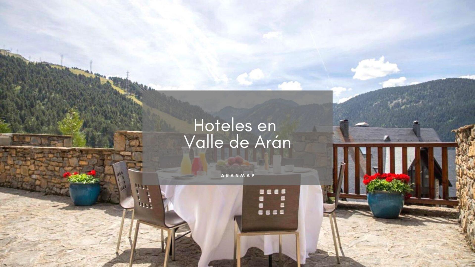 Hoteles en el Valle de Arán